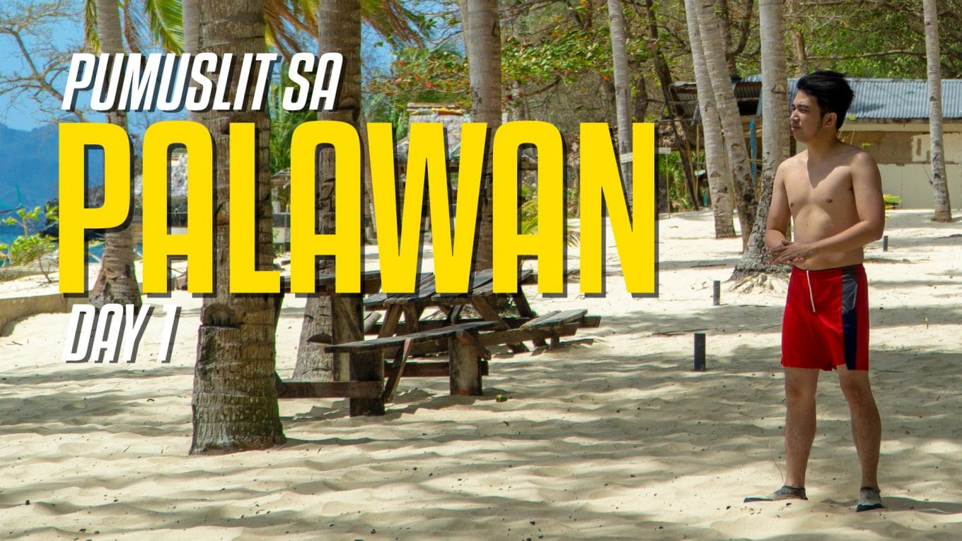 Palawan travel vlog 2020